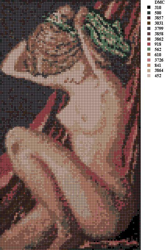 Картины из бисера схемы